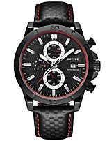 cheap -BOYZHE Men's Sport Watch Automatic self-winding Modern Style Sporty Stainless Steel Black / Silver 30 m Water Resistant / Waterproof Calendar / date / day Shock Resistant Analog Casual Outdoor -