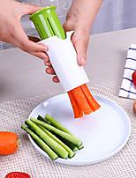 cheap -Cucumber Splitter Carrot Strawberry Slicer Petal Cutter Creative Vegetable Fruit Strip Cutting Divider
