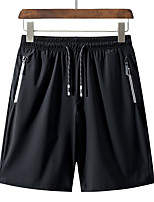 "cheap -Men's Boys' Hiking Shorts Summer Outdoor 10"" Breathable Quick Dry Ventilation High Elasticity Elastane Shorts Bottoms Camping / Hiking Hunting Fishing Black M L XL XXL XXXL / Wear Resistance"