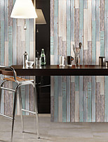 cheap -Waterproof And Wear-resistant Colored Wood Grain Stickers Wall Stickers Floor Stickers Pvc Thickening