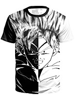 cheap -Inspired by One Piece Cosplay Costume T-shirt Polyster Print Printing T-shirt For Men's / Women's