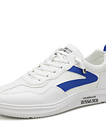 cheap -Men's Summer / Fall Casual / Chinoiserie Daily Outdoor Sneakers PU Non-slipping Wear Proof Green / Blue / Gray