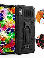 cheap -iPhone11Pro Max Mech Warrior Back Clip Mobile Shell XS Max Bracket Magnetic Absorption One Drop Suitable for 6 7 8Plus SE2020 Protective Case