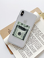 cheap -Case For Apple iPhone 11  iPhone 11 Pro  iPhone 11 Pro Max Shockproof  Dustproof  Pattern Back Cover Transparent TPU Soft 3D Fashion iPhone 7 iPhone 8 iPhone XS Max