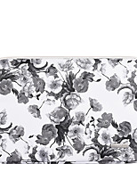 cheap -11.6 12 13.3 14 15.6 Inch Laptop Sleeve PU Leather Floral Print Vine for Women for Business Office for Colleages Schools Waterpoof Shock Proof