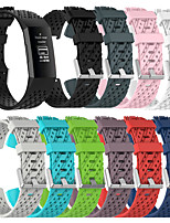 cheap -Breathable Silicone Sport Strap For Fitbit Charge 4 / Fitbit Charge 3