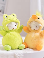 cheap -1 pcs Stuffed Animal Pillow Plush Doll Sofa Toys Plush Toys Plush Dolls Stuffed Animal Plush Toy Sheep Cartoon Characters Realistic Soothing PP Plush Imaginative Play, Stocking, Great Birthday Gifts