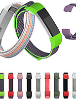 cheap -High Quality Adjustable Watch Band for Fitbit Alta HR Fitbit Ace Fitbit Alta Wristbands Magic Tape Fitness Tracker Replacement Bracelet Nylon Loop Strap for Fitbit Alta HR Fitbit Alta