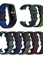 cheap -Silicone Replacement Watch Band for Fitbit Charge 3 / Fitbit Charge 4 Elegant Watch Comfortable Element Silicone Replacement Strap for Fitbit Charge 3 / Fitbit Charge 4