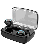 cheap -KawBrown M11 TWS True Wireless Earbuds Wireless with Charging Box LED Power Display for Mobile Phone