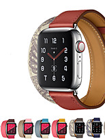 cheap -Watch Band for Apple Watch Series 5/4/3/2/1 Apple Sport Band / Jewelry Design / Business Band Genuine Leather Wrist Strap