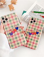 cheap -INS Korea cute simple illustration cool bear couple phone case for iPhone 11 pro MAX se 2020 Xs MAX Xr X  7 8plus soft TPU backcover