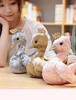 cheap -1 pcs Stuffed Animal Pillow Plush Doll Sofa Toys Plush Toys Plush Dolls Stuffed Animal Plush Toy Swan Cartoon Comfortable Realistic Soothing PP Plush Imaginative Play, Stocking, Great Birthday Gifts