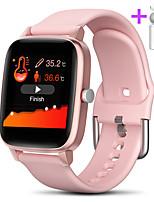 Недорогие -jsbp t98pro женщины умный браслет smartwatch bt фитнес-оборудование монитор водонепроницаемый с tws bluetooth-гарнитура температура тела для android samsung / huawei / xiaomi ios мобильный телефон