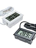 cheap -Probe Fridge Freezer Thermometer Sensor FY-10 Mini Digital LCD Thermometer Thermograph For Aquarium Refrigerator KitChen Bar Use