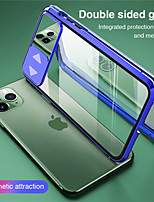 cheap -Magnetic Case for iPhone SE 2020 11 11 Pro 11 Pro Max iPhone X XS XR XS Max 7 Plus 8 Plus 8 7 Magnetic Tempered Glass Double Sided Protection Slide Cover