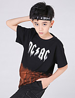 cheap -Kids Boys' Street chic Tie Dye Short Sleeve Tee Black