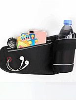 cheap -Running Belt Fanny Pack Belt Pouch / Belt Bag for Running Hiking Outdoor Exercise Traveling Sports Bag Reflective Adjustable Waterproof Lycra® Men's Women's Running Bag Adults