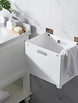 cheap -Foldable Laundry Basket Hanging Toy Storage Dirty Laundry Hamper Picnic Clothes Box Bathroom Wash Baby Clothes Organizer Box
