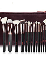 cheap -Professional Makeup Brushes 15pcs Professional Full Coverage Comfy Wooden / Bamboo for Blush Brush Foundation Brush Makeup Brush Eyeshadow Brush