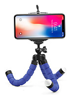 cheap -Mini Flexible Sponge Octopus Tripod for iPhone Samsung Xiaomi Huawei Mobile Phone Smartphone Tripod for Gopro 8 7 5 Camera For Huawei Xiaomi onePlus iPhone Samsung