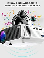 cheap -E400 Basic Version 1600 lms Mobile Phone Projector Home Wireless Home Theater and Entertainment