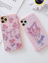 cheap -Cartoon Shockproof  TPU Phone Case For Apple iPhone 6 iPhone 6 Plus  iPhone 6s iPhone 6s Plus  iPhone 7  iPhone 7 Plus  iPhone 8  iPhone 8 Plus  iPhone SE