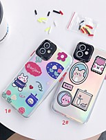 cheap -Laser Cartoon TPU for Apple iPhone Case 11 Pro Max X XR XS Max 8 Plus 7 Plus SE(2020) Protection Cover