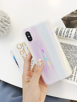 cheap -Laser Marble TPU Protection Cover for Apple iPhone Case 11 Pro Max X XR XS Max 8 Plus 7 Plus SE(2020)