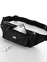 cheap -Running Belt Fanny Pack Belt Pouch / Belt Bag for Running Hiking Outdoor Exercise Traveling Sports Bag Adjustable Waterproof Portable Nylon Men's Women's Running Bag Adults