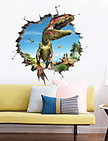 cheap -Animals / 3D Wall Stickers 3D Wall Stickers / Animal Wall Stickers Decorative Wall Stickers, PVC Home Decoration Wall Decal Wall Decoration 1pc