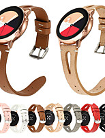 cheap -22mm Watchband For Samsung Gear S3 Galaxy Watch 46mm Leather Strap
