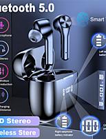 Недорогие -litbest t9 tws правда беспроводные наушники bluetooth 5.0 с коробкой зарядки микрофона автосопряжение светодиодный индикатор питания для путешествий
