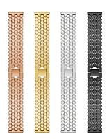 cheap -Replaced Stainless Steel Watch Band Fish Scale Pattern Wrist Strap Bracelet for TicWatch Pro / TicWatch S2 / TicWatch E2 TicWatch Accessories Kit