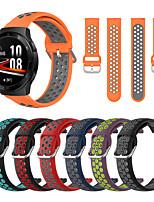 cheap -Watch Band for Huawei Watch GT 2 / Huawei Watch GT2 46mm / Huawei Watch GT 2e Huawei Modern Buckle Silicone Wrist Strap
