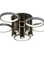 cheap -65 cm Dimmable  Cluster Design Circle Design Flush Mount Lights Metal Basic Painted Finishes Nature Inspired  Nordic Style 220-240V