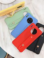 cheap -Wrist Strap Hand Band silicone case for Huawei P40  P40Pro P40 Lite  P30  P30 Pro  P30 Lite  Mate 30  Mate 30 Pro  Mate 20  Mate 20Pro  Nova 7i  6SE  5iPro  5 i  Back Cover