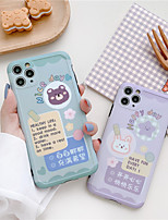 cheap -Cute Cartoon bear pattern Phone Case for iPhone 11 Pro Max se 2020 XS Max XR 8 7 Plus 2020 Soft Silicone Back Cover