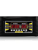 Недорогие -12 В 6a eu / us 110-240 В переменного тока автоматический зарядное устройство для аккумуляторов, устройство для технического обслуживания, десульфататор для свинцово-кислотных аккумуляторов,