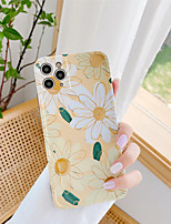 cheap -Case For Apple iPhone 11 / iPhone 11 Pro / iPhone 11 Pro Max Shockproof / Pattern Back Cover Flower TPU