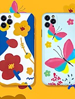 cheap -IMD Flower TPU for Apple iPhone Case 11 Pro Max X XR XS Max 8 Plus 7 Plus SE(2020) Protection Cover