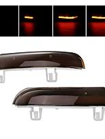 cheap -Pair Dynamic LED Turn Signal Light Mirror Indicator Lights Amber for VW Golf 5 Jetta MK5 Passat B6