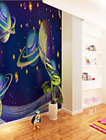 cheap -Home Decoration Custom Self-adhesive Mural Wallpaper Cool Star Children Cartoon Style Suitable For Bedroom Children's Room School Party