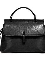 cheap -Women's Zipper / Chain PU Leather Crossbody Bag Leather Bag Solid Color Wine / Black / Khaki