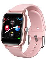 Недорогие -SMART WATCH OT98 Мужчина женщина Смарт Часы Android iOS Bluetooth Водонепроницаемый Сенсорный экран Пульсомер Измерение кровяного давления Спорт