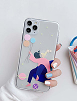 cheap -Case For Apple Shockproof  Dustproof Pattern Back Cover Sky  Sexy Lady TPU Personality Girl Phone Case iPhone X iPhone 11 Pro Max iPhone XR iPhone 7 iPhone 8