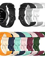 cheap -22mm Silicone Wrist Strap for Garmin vivoactive4 Garmin Classic Buckle Watch Band