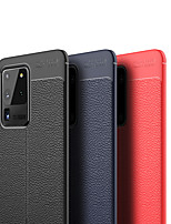 cheap -Case For Samsung Galaxy S20/S20 Plus/S20 Ultra/S10/S10E/S10 Plus/S10 5G/S9/S9 Plus/Note 10/Note 10 Plus/A90 5G/A70S Shockproof Back Cover Solid Colored PU Leather / TPU