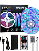 cheap -MASHANG Bright RGBW LED Strip Lights 32.8ft 10M RGBW Tiktok Lights 2340LEDs SMD 2835 with 44 Keys IR Remote Controller and 100-240V Adapter for Home Bedroom Kitchen TV Back Lights DIY Deco