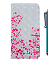 cheap -Case For Samsung Galaxy S20 S20 Plus S20 Ultra Wallet Card Holder with Stand Full Body Cases Cherry Blossom PU Leather TPU for Galaxy A51 A71 A01 A50(2019) A30S(2019) A70(2019) A20(2019)